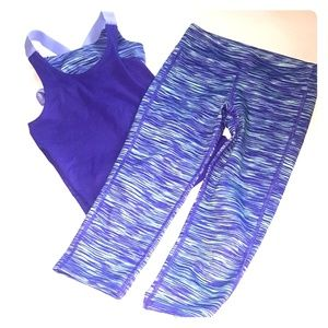 Girl's Old Navy Workout Outfit